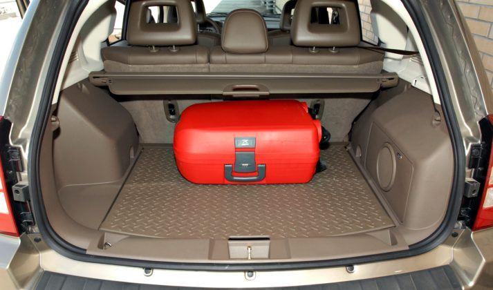 Jeep Compass - bagażnik