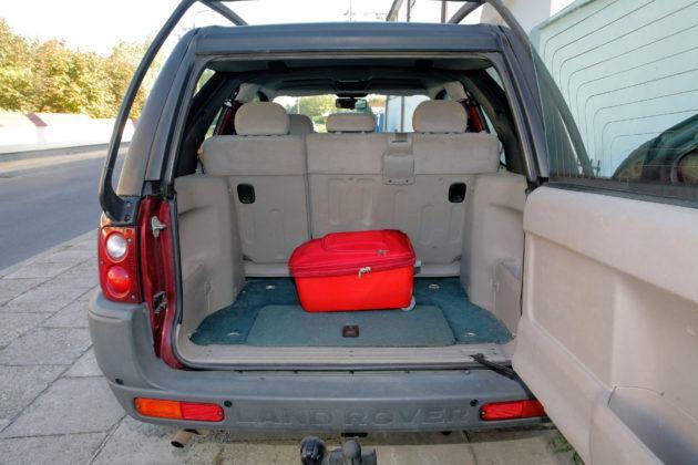 Land Rover Freelander - bagażnik