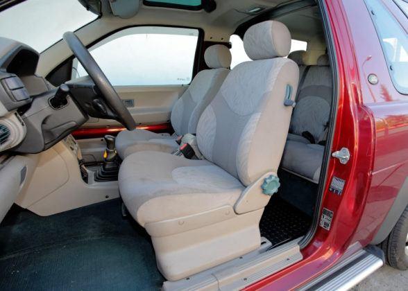 Land Rover Freelander - fotel kierowcy