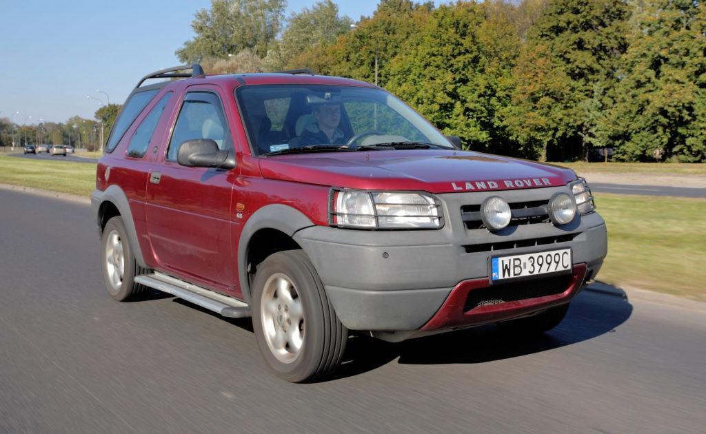 Land Rover Freelander - jazda