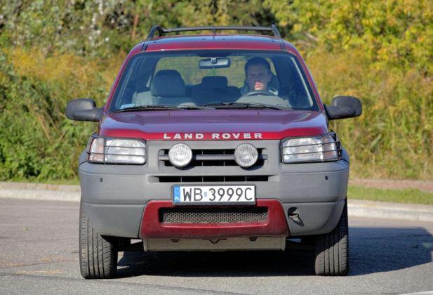 Land Rover Freelander - przód