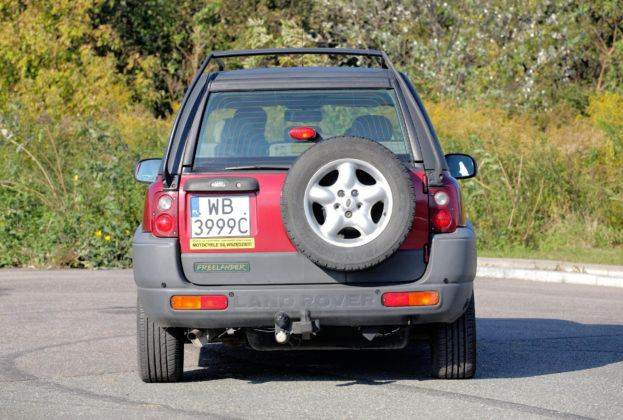 Land Rover Freelander - tył