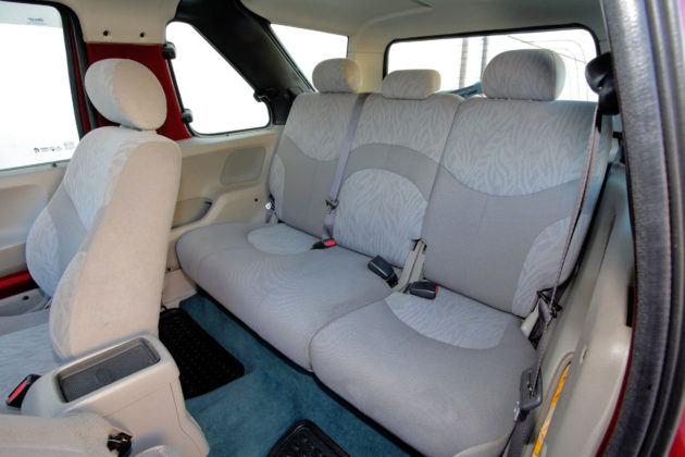 Land Rover Freelander - tylna kanapa