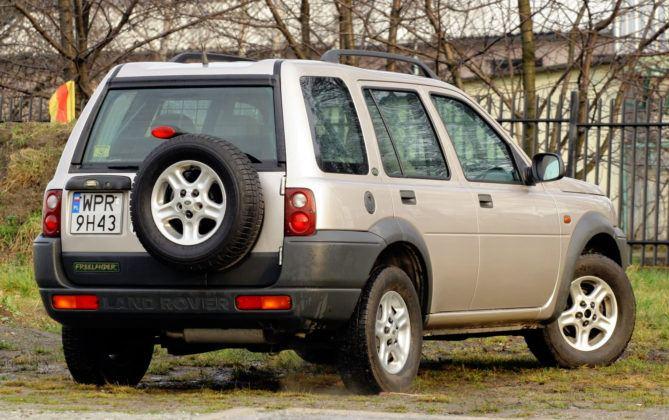 Land Rover Freelander - wersja 5d
