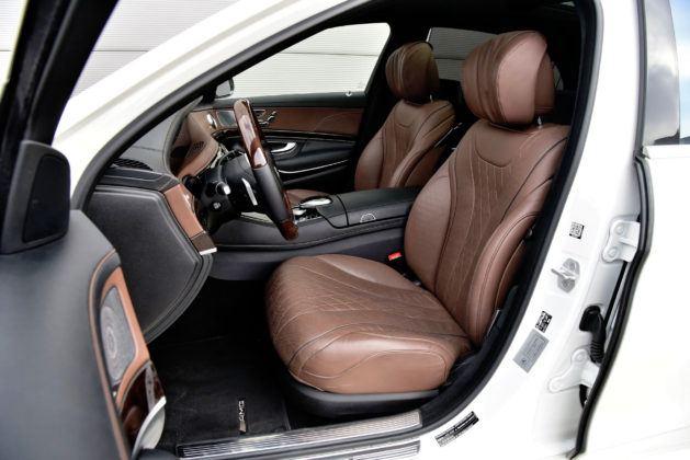 Mercedes Klasy S - fotel kierowcy