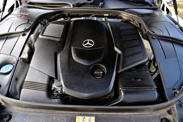 Mercedes Klasy S - silnik