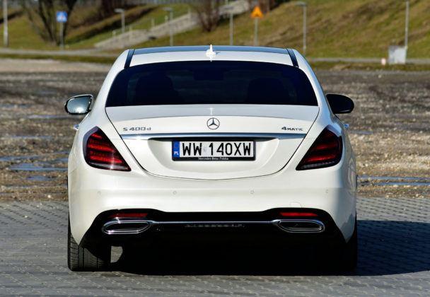Mercedes Klasy S - tył