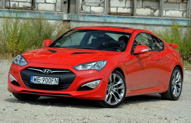 Model o najdroższych częściach - Hyundai Genesis