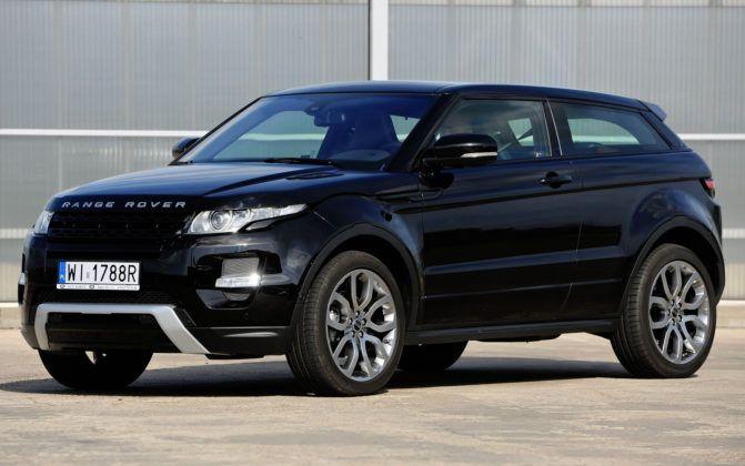 Model o najdroższych częściach - Land Rover Range Rover Evoque