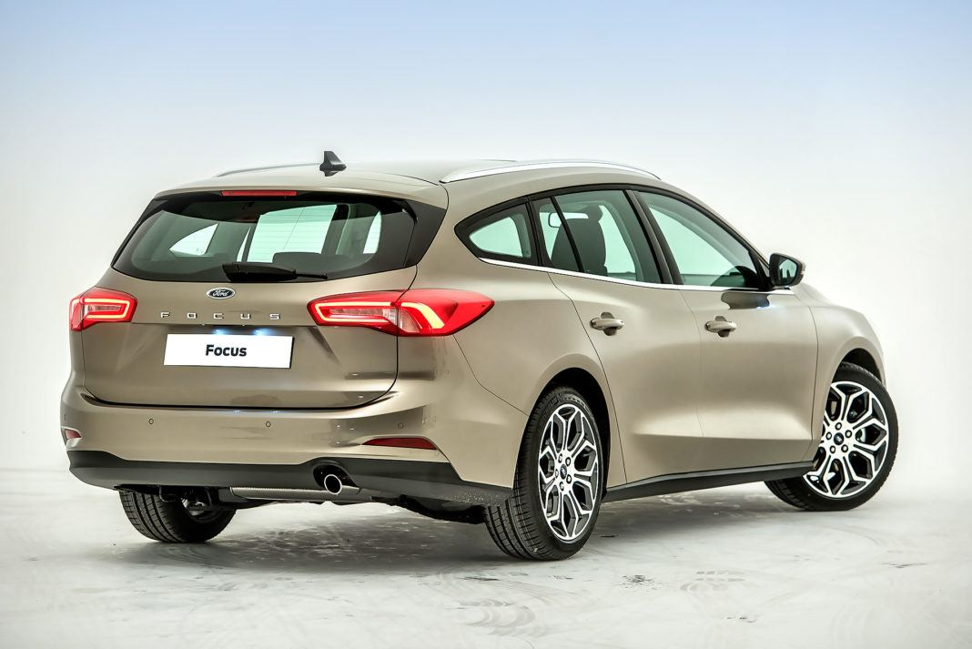 Nowy Ford Focus Combi - tył