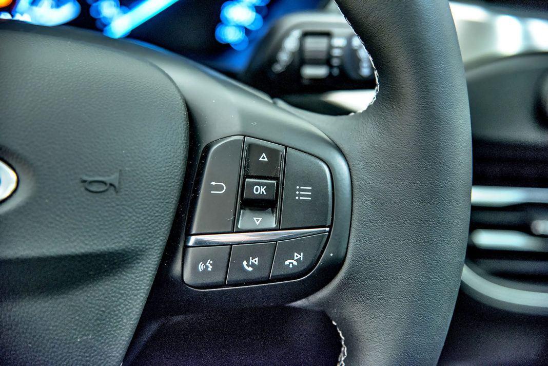 Nowy Ford Focus - kierownica