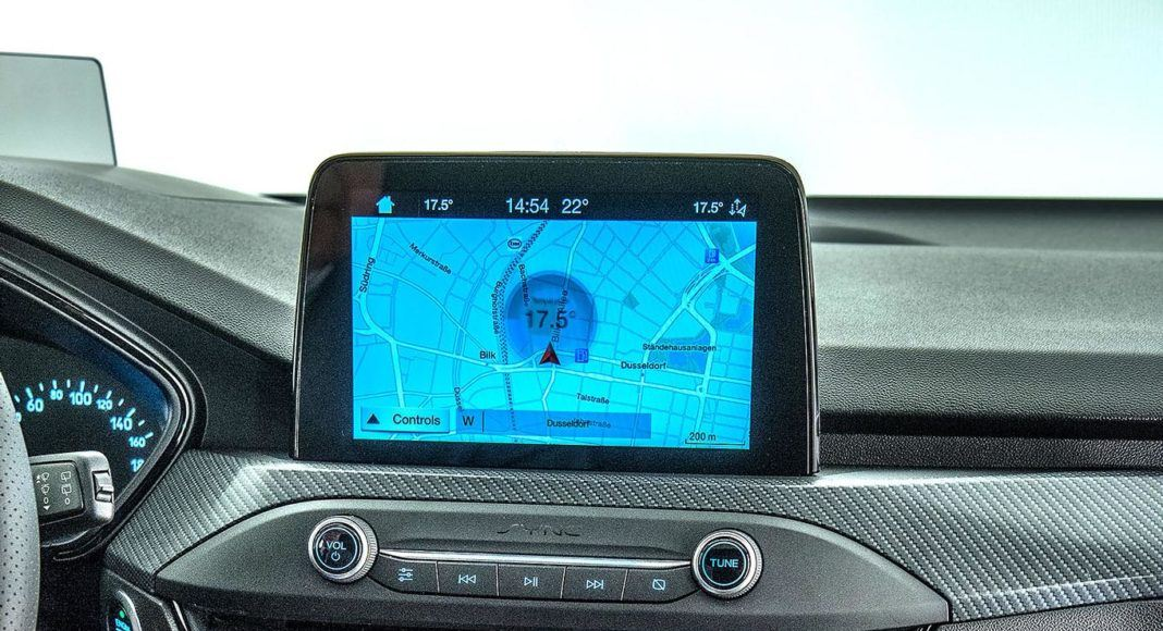 Nowy Ford Focus - konsola srodkowa