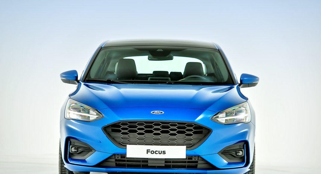 Nowy Ford Focus - przód