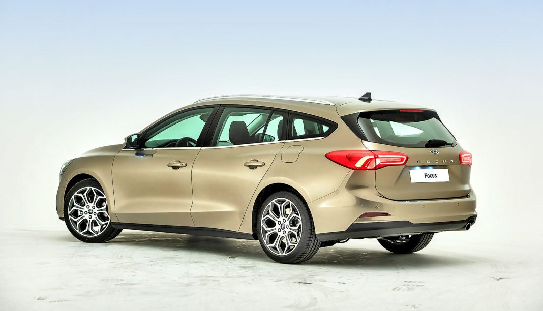Nowy Ford Focus - tył