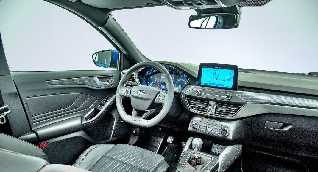 Nowy Ford Focus - wnętrze