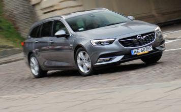 Opel Insignia - otwierajace
