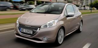 Peugeot 208 - otwierające
