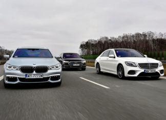 Audi A8, BMW serii 7, Mercedes klasy S – PORÓWNANIE