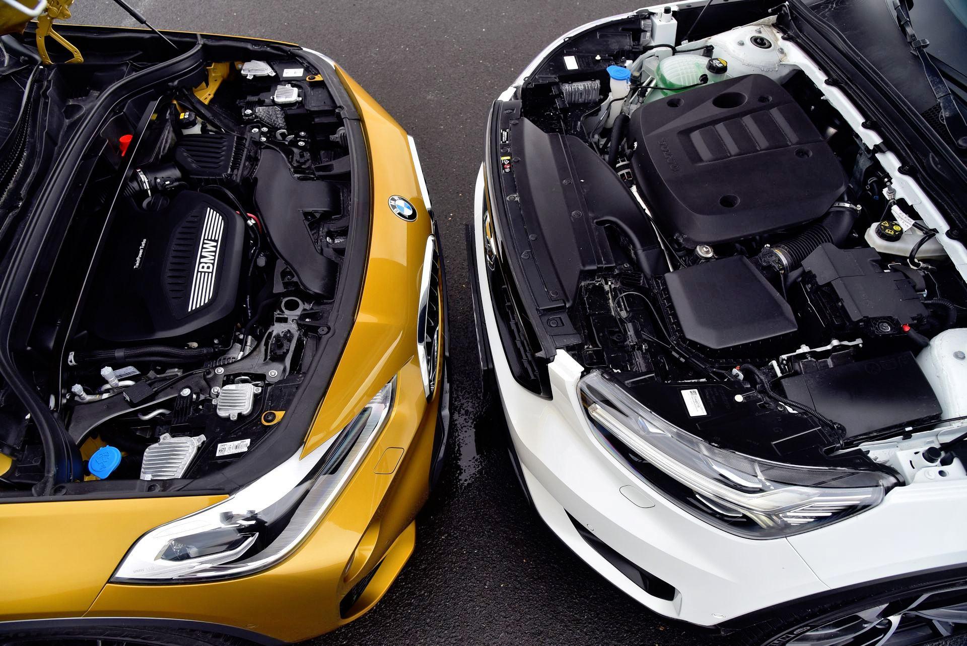 Ta sama moc i moment obrotowy. Silnik Volvo przegrywa osiągami i spalaniem.