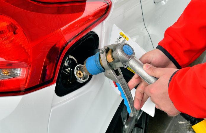 Samochody z LPG w Europie - otwierające