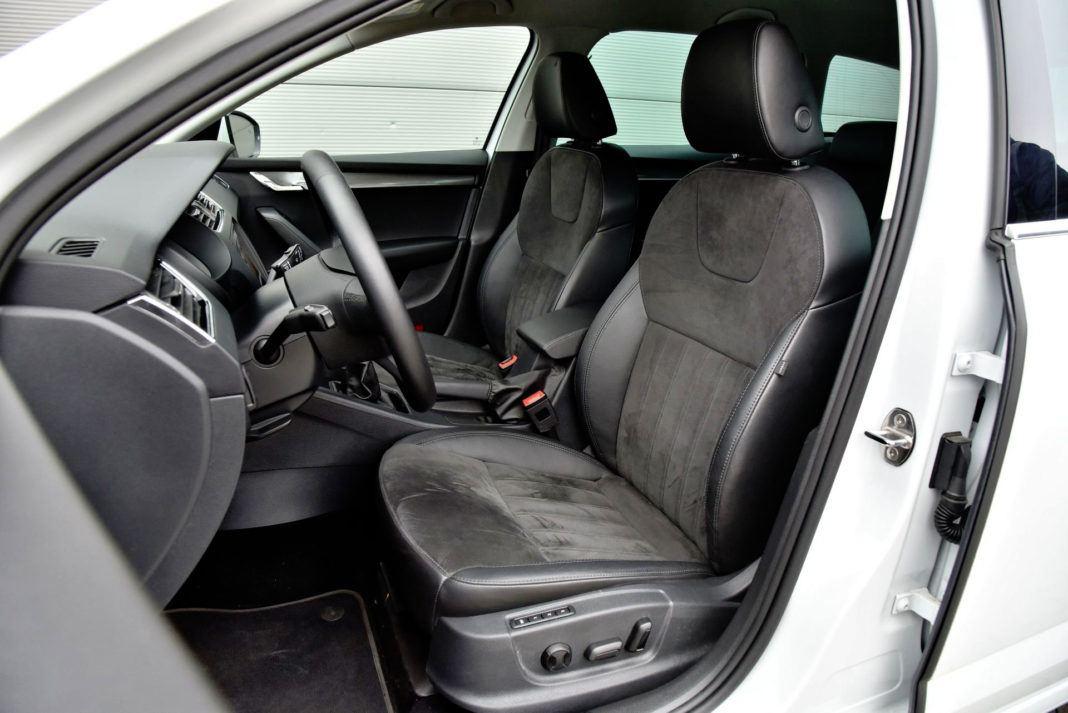 Skoda Octavia - fotel kierowcy
