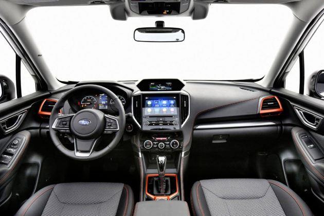 Subaru Forester - deska rozdzielcza