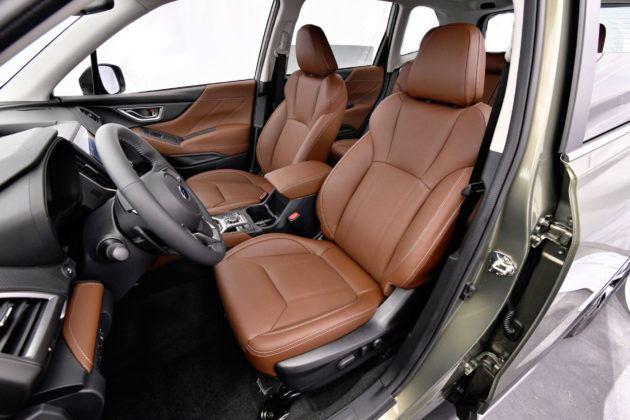 Subaru Forester - fotel kierowcy