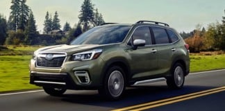 Subaru Forester - otwierające