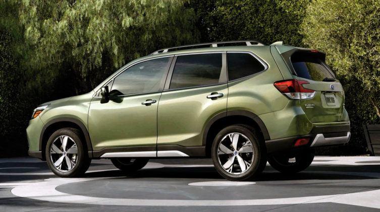 Subaru Forester - tył
