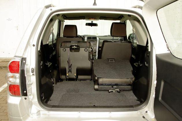 Suzuki Grand Vitara 3d - powiększony bagażnik