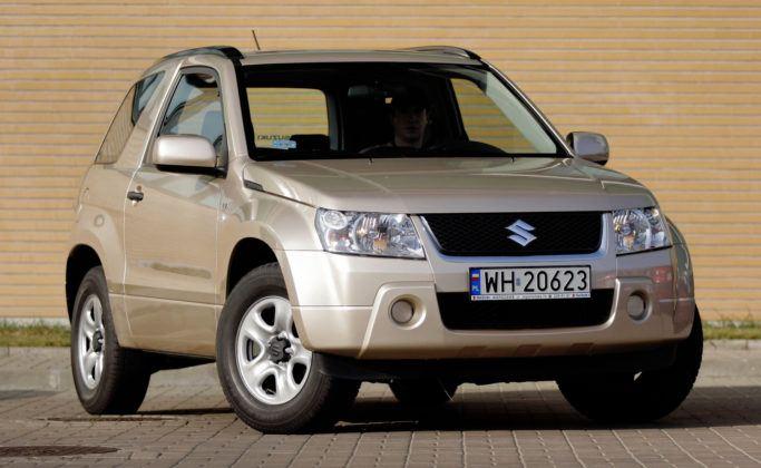 Suzuki Grand Vitara 3d - przód