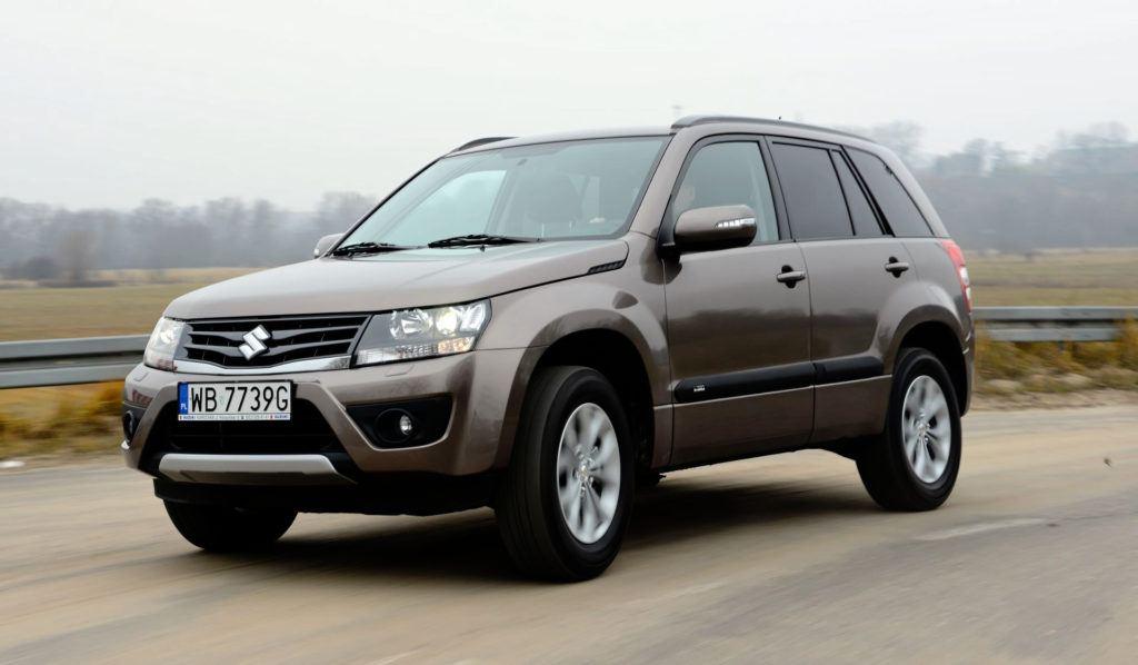 Suzuki Grand Vitara - jazda