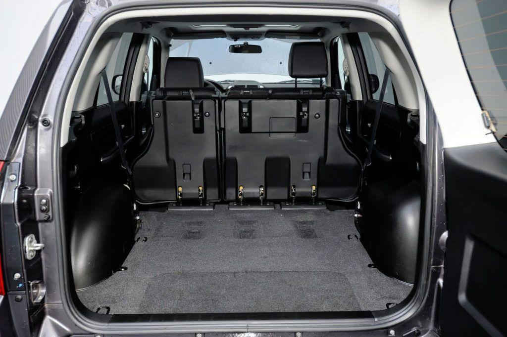 Suzuki Grand Vitara - powiększony bagażnik