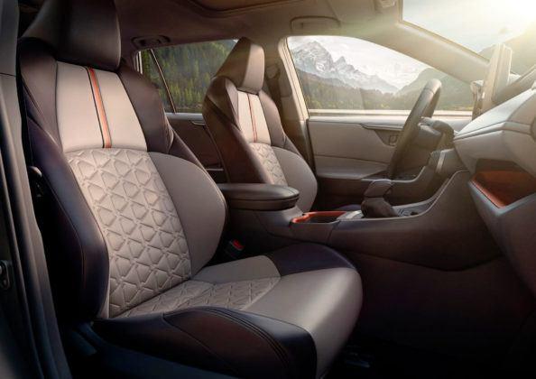 Toyota RAV4 V (USA) - fotel kierowcy