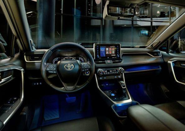 Toyota RAV4 V - deska rozdzielcza