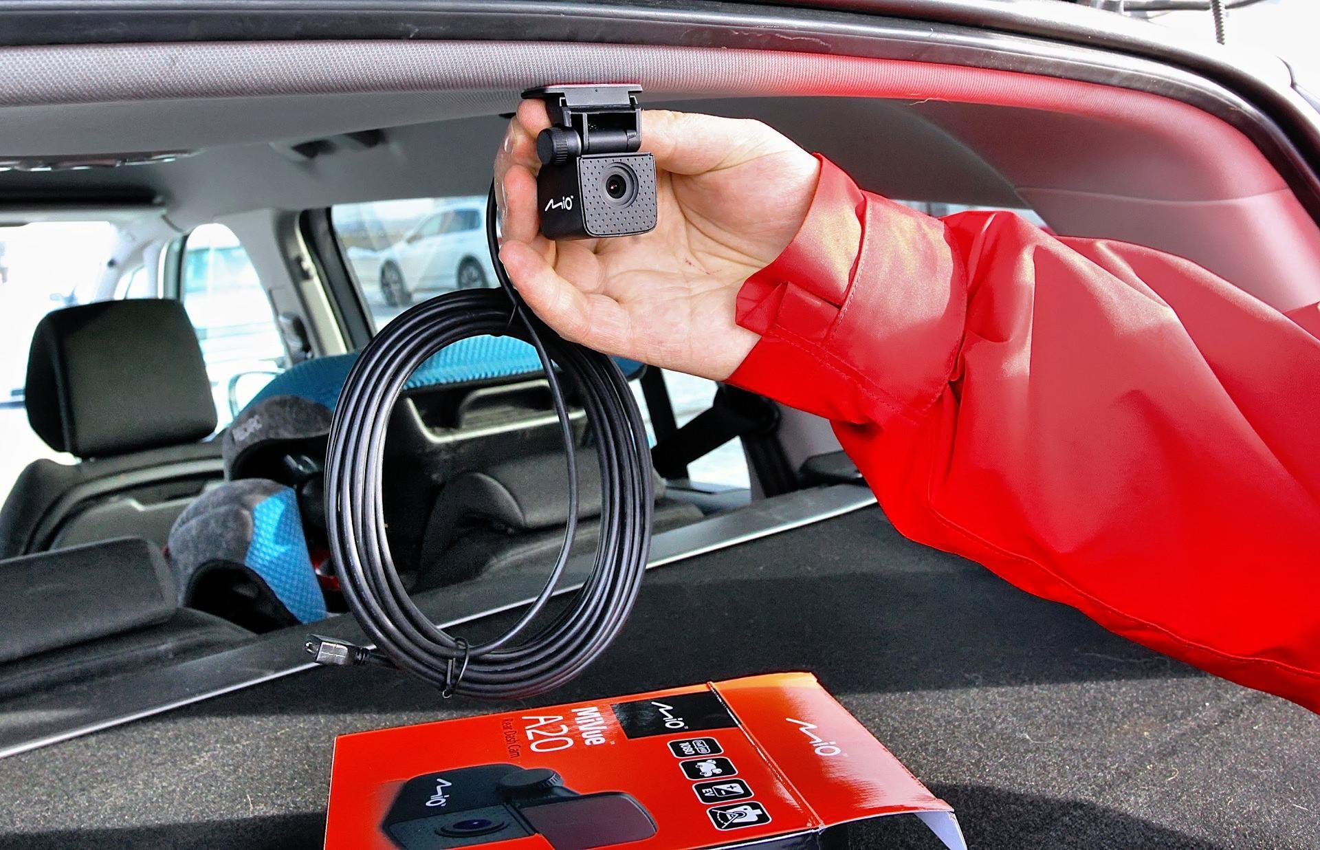 Tylna kamera samochodowa
