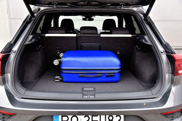 VW T-Roc - bagażnik