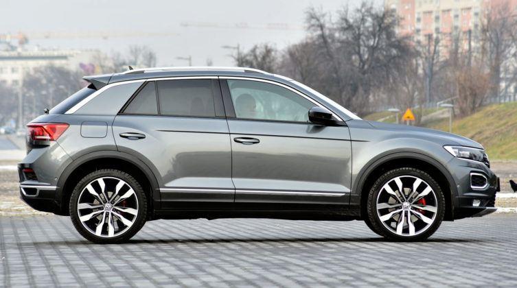VW T-Roc - bok