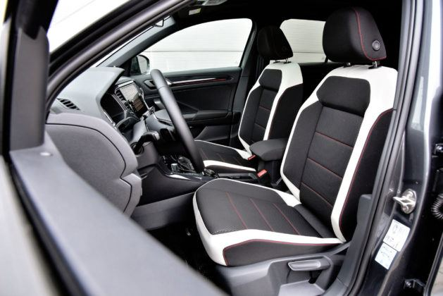VW T-Roc - fotel kierowcy
