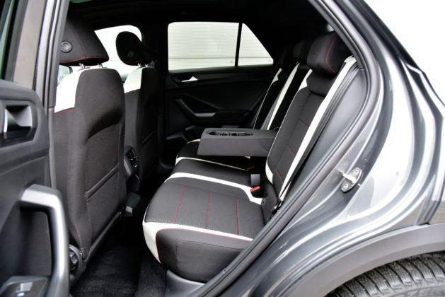 VW T-Roc - tylna kanapa