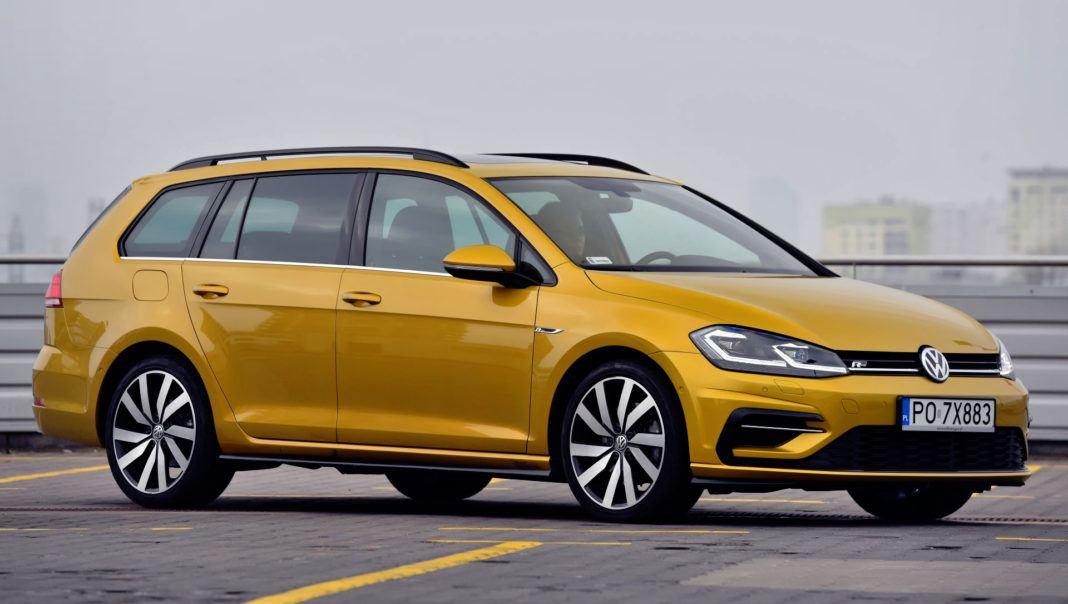 Volkswagen Golf - przód