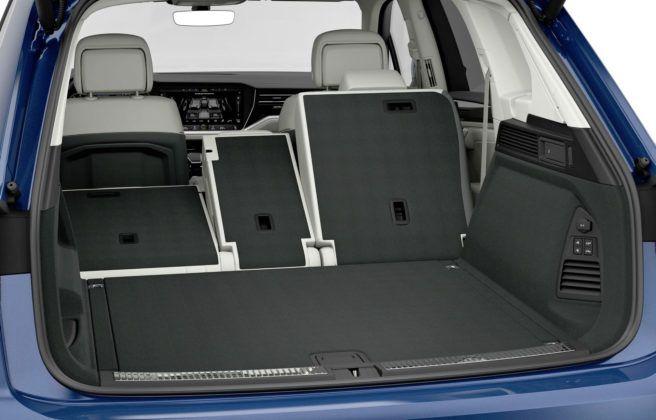 Volkswagen Touareg - bagażnik