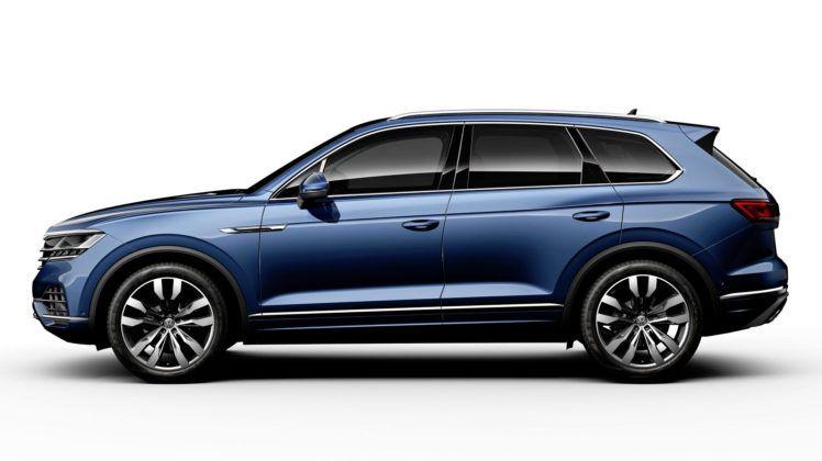 Volkswagen Touareg - bok