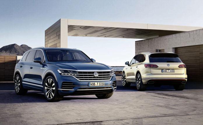 Volkswagen Touareg - otwierające