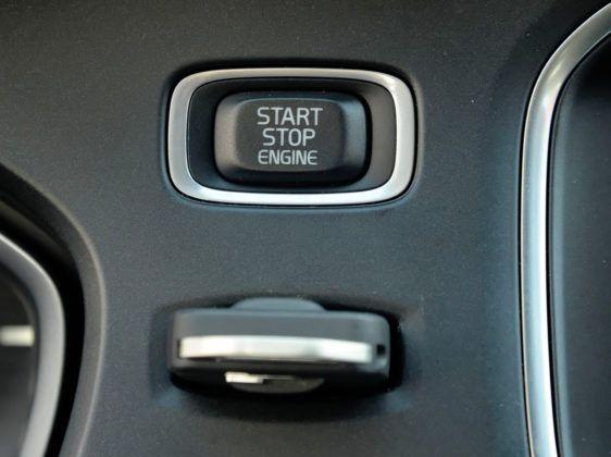 Volvo V40 - system start-stop
