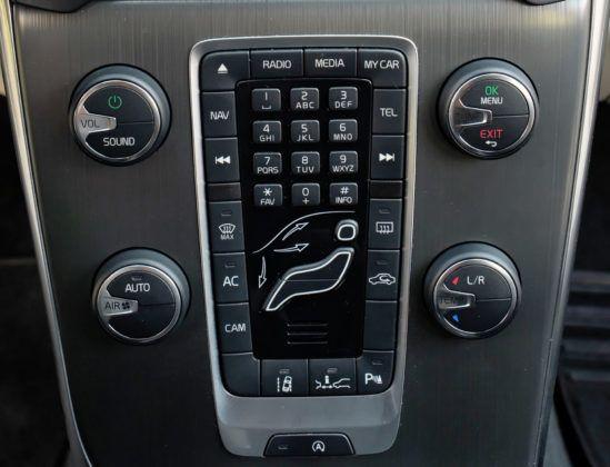 Volvo V40 - układ klimatyzacji