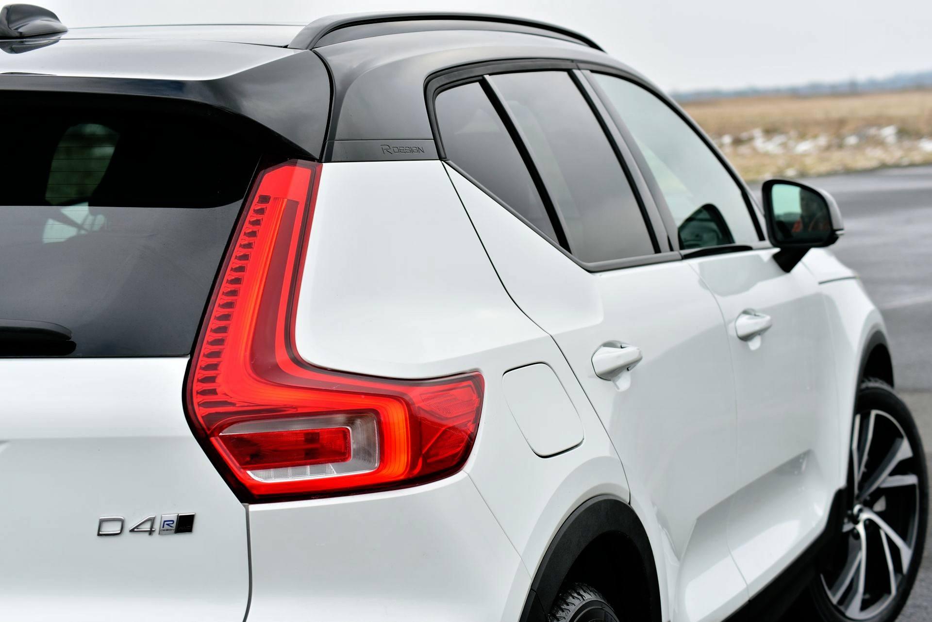 Volvo XC40 - detal