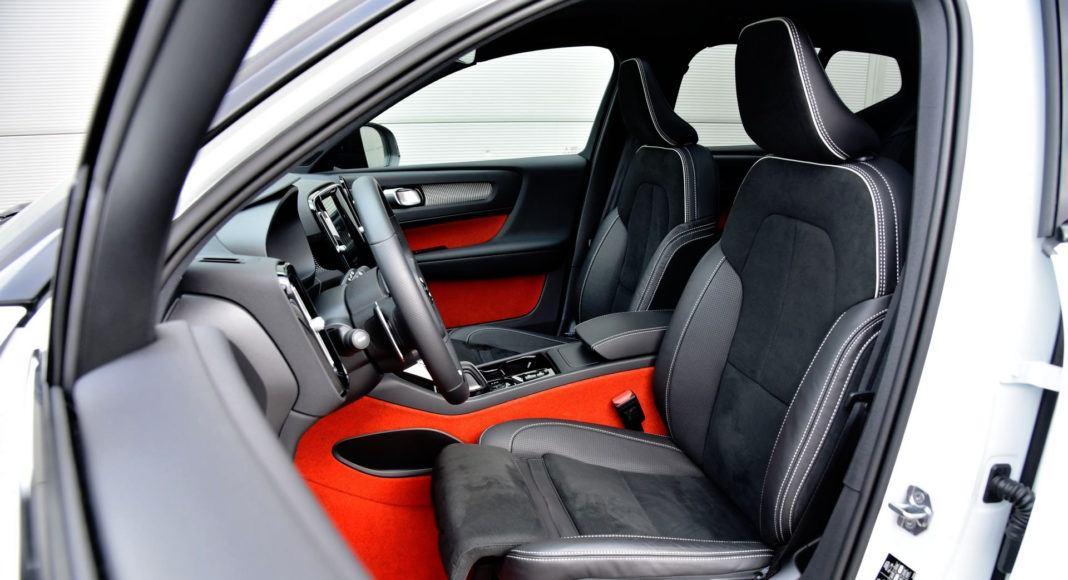 Volvo XC40 - fotel kierowcy