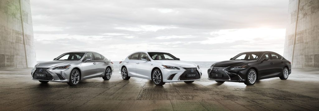 Lexus ES (rok modelowy 2019)