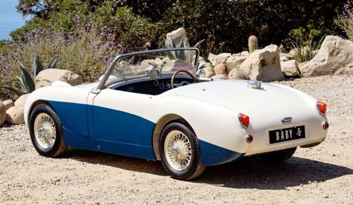 Austin-Healey Sprite Mk1 - tył